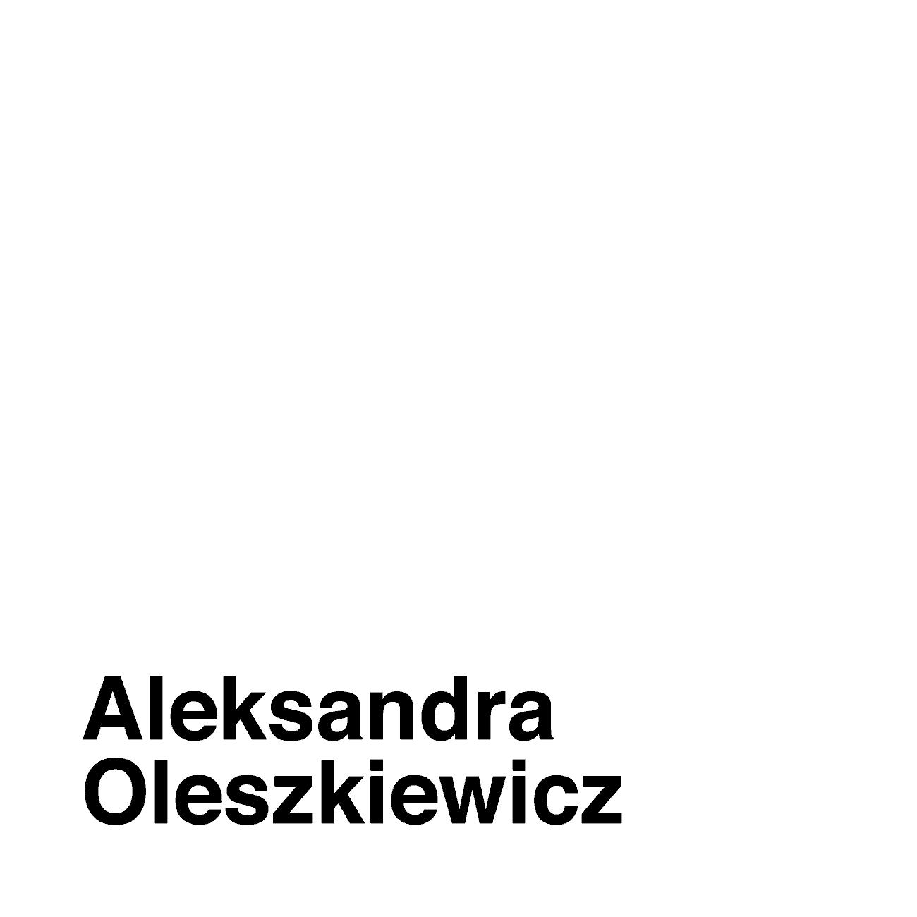 Aleksandra Oleszkiewicz